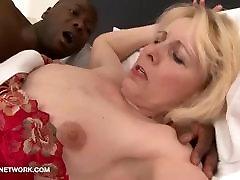 Step Mother and black son have secret sex hardcore jesmean jai jizz licking