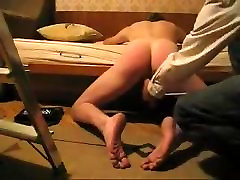 Spanking that ass