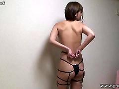 Japanese Teen Hikaru Switch to a Sexy String Bikini