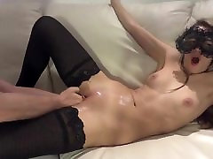 Young girlfriend pussy gets fisted