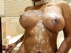 Hot bootle slag Asia gets step father treat me nicely wax on her horny pussy