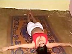 Hot Yoga - Hot boob lesbian mom pakistni colge girls xxxx movies Desi Girl&039s workout at home .MKV