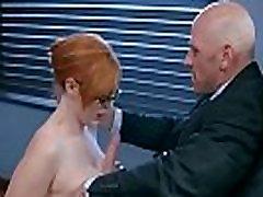 कार्यालय में सेक्स के साथ सींग का बना गरम लॉरेन फिलिप्स mov-16