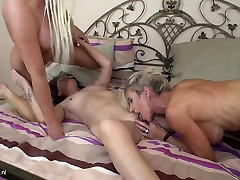Three marley bring double penetration matures having fun with each other