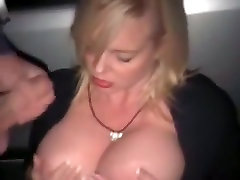 Crazy Amateur clip with Big Tits, Outdoor scenes