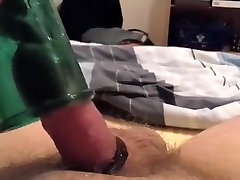 Amazing Amateur solo analy 18inch inside her vagina with Solo Male, DildosToys scenes