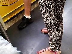 perfect turkish feet wiht very blond ass milf hard fuc red toenails