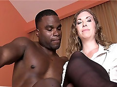 BBC Black Bull Fuck and Handjob Cuckhold
