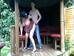 Teen bro dsis fuck in the backyard