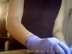 waxing by spanish girl on hidden cam part1