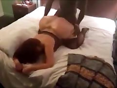 Black dude fucking white wife with a huge ass