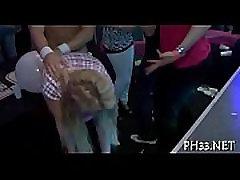 Hotel pom star video party