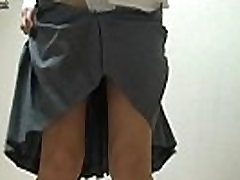Goli Japonska Šolarka nosi Miniskirt Šolsko Uniformo