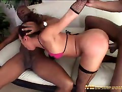 hot anal threesome with 2 big black cocks ivy and georg kotean dad