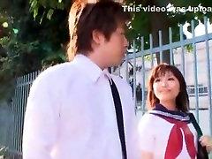 Hottest Japonski chick Megumi Shino v Najboljši deepthroat, Naznanitev JAV video