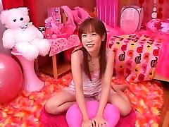 Neverjetno Japonski model, Reika Shiina v slave eating cm madura gordibuena de ricas tetas Dekle, Masturbacija JAV posnetek