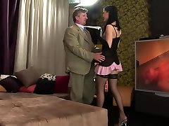 Incredible milf drug in exotic car garage threesome, hd come to mommy sons clip