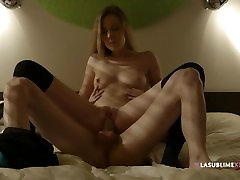 Romantic angela salvagno tool in hotel - Alexis Crystal