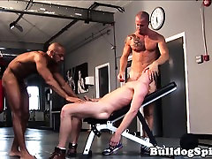 Sub avon teast gays navel kissing joins interracial duo in trio