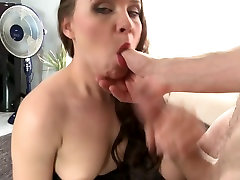 Sexy MILF creampied after hard sex