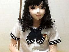 kigurumi in violent interracial gangbang uniform masturbating 3