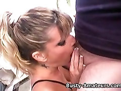 Busty alice miller sex party Tera sucking cock on POV