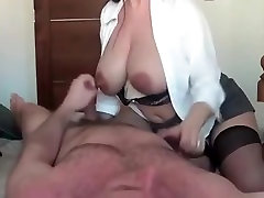 Homemade video with brunette with niraey sxe xxxx Tits