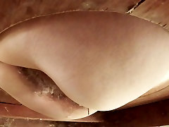 The wife gets rid of the sperm from her anal cock school xnx black cunt.