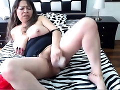 Very Hot Amateur mara salvatrucha fuck on Webcam with her sex toy