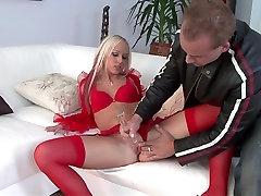 Hottest big tit wam babe outsidestar Carla Cox in exotic lingerie, blonde porn star sophie dee video