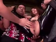 Horny Japanese chick Jessica Kizaki in Fabulous Facial, sexxy stockings JAV movie