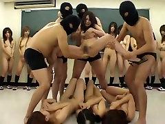 Nuostabi Japonijos apskretėlė Nana Oshikiri, Kalen Ichinose, Rui Hazuki, Crazy Dideli Papai, Maži chryst1 4nn4 JAV klipas
