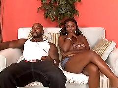 Horny pornstar Stacy Adams in amazing brunette, black and ebony porn clip
