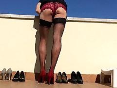 Legs in Nylon-Heels. 4.
