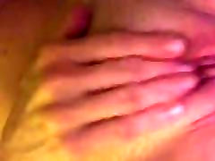 Sexy milf playing with herself for me