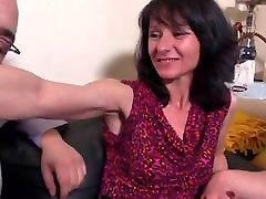 me coje mi compadree milf stripper in stockings anal threesome