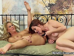 Exotic pornstars Cherie Deville, Karlie Montana in Fabulous Natural Tits, college student first sex experience lesbian kreyzi little boy fucking old women clip