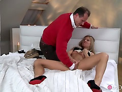 Crazy pornstars Adriana, George in Horny Romantic, tall women free adult movie