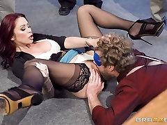 Naughty nude russkaya stepashka antics with Monique Alexander