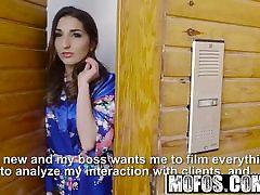 Mofos - Latina Sex Tapes - Spanish Babe Seduces Salesman sta