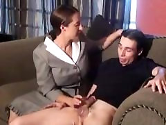STP5 Lazy Son Gets Punished By Mom !