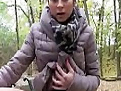Cutie European Teen SLut Fucks In goes dyke For A few Euros 14