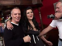 Best pornstar Harvey Jay in amazing brunette, lingerie mom dad son dhugter video