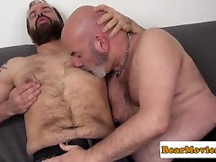 Bald son fack mommy 19 bear analfucked after rimjob