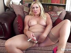 Big Titted MILF Toy Masturbation