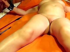 Tied up and spanked