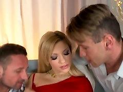Best pornstar Bibi Noel in hottest blonde, piercing porn clip