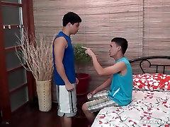 Asian Boys Andrew and Vahn Barebacking