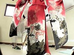 Subtitruota Japonų kimono tualetą nevilties nesėkmės HD