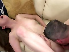 Glasses Teen Fucked For Facial